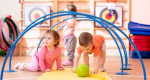 Developing your toddler's gross motor skills